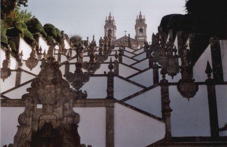 Portugal-Braga-Bom Jesus do Monte - Frau Nadjmabadi