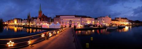 Kinderweihnachtsmarkt in Lübeck