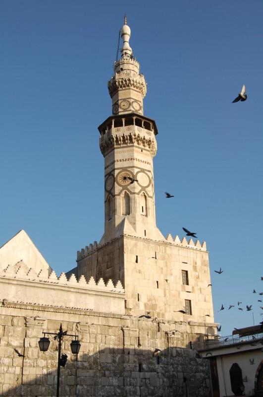 Minarett in Damaskus