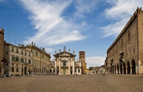 Mantua Stadtplatz