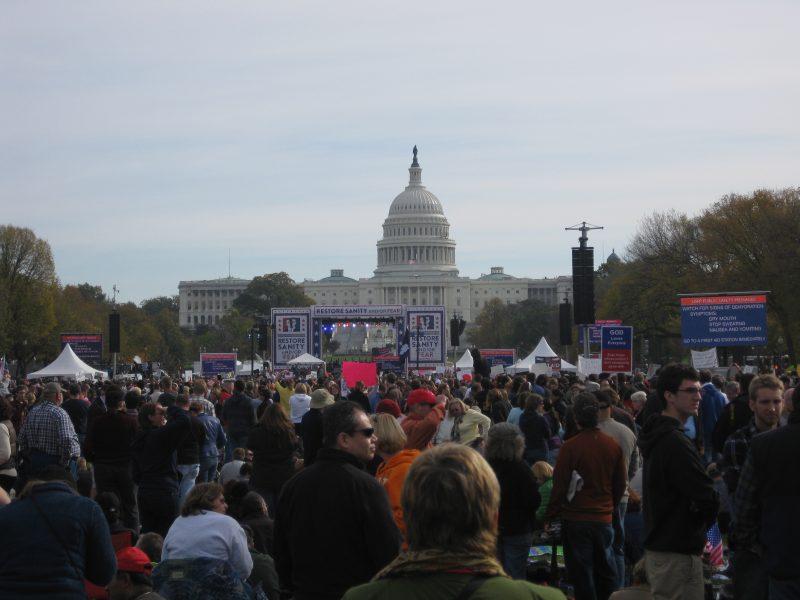 """""""Rally"""" auf der Mall"""