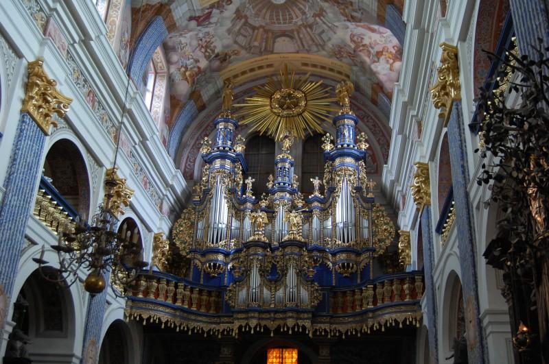 Die Orgel in Heiligelinde - und sie bewegt sich doch.