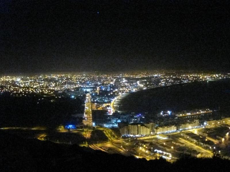 Abschied von Marokko - Agadir von oben.