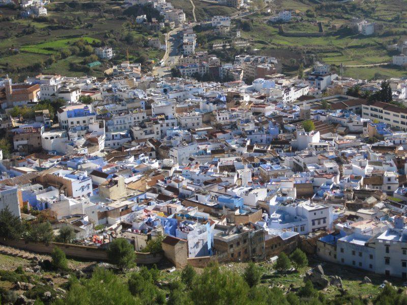 Die blaue Stadt Chefchouan im Rifgebirge