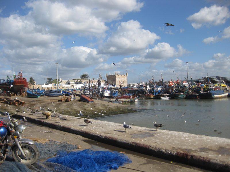 Essaouira - malerisches Fischerstädtchen und einstige Hippiehochburg