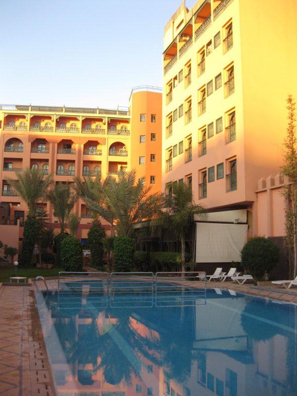 Hotel Diwane - das Hirsch-Hotel in Marrakech