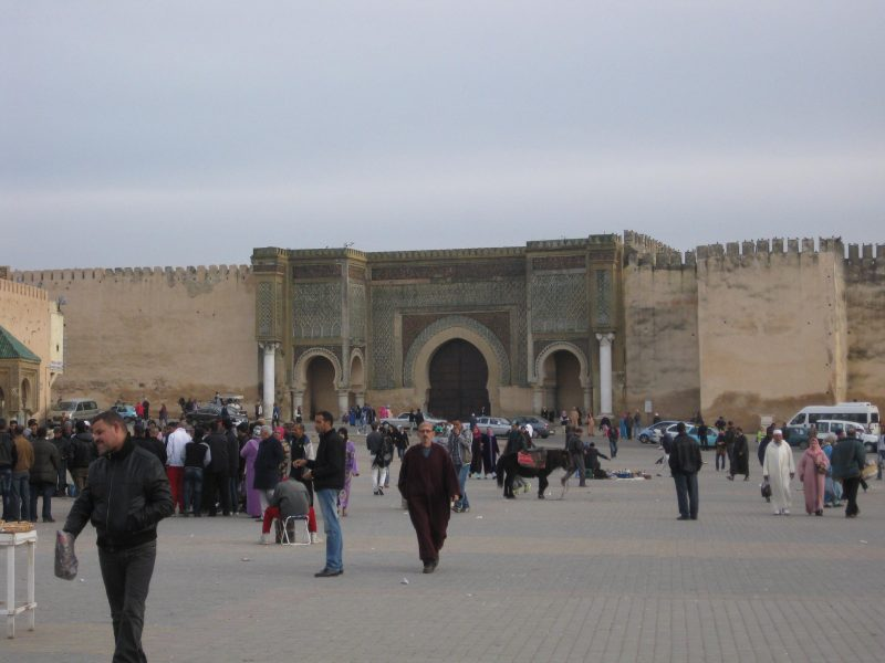 Das Bab-El-Mensour in Meknes - ebenfalls Königsstadt