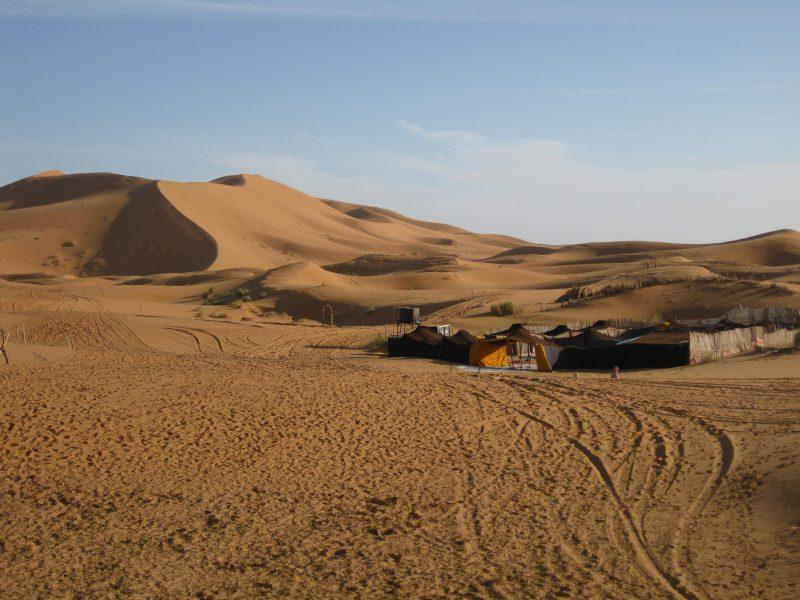 Die Dünen von Merzouga - die Wüste hautnah