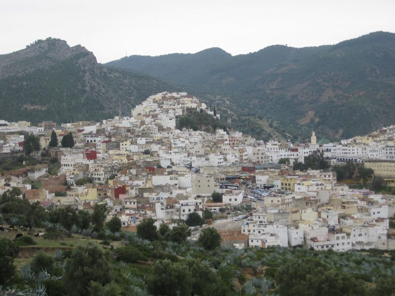 Heiliger Wallfahrtsort Moulay Idriss