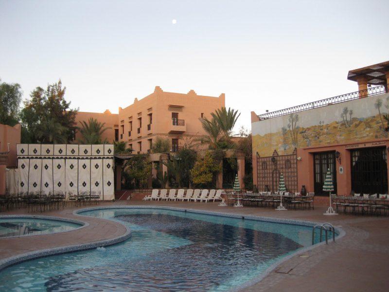 Hotel Hanane Club - das Hirsch-Hotel in Ouarzazate