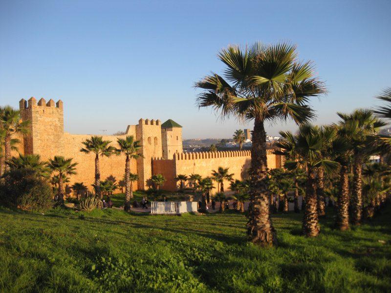 Die Kasbah des Ourdaias in Rabat - auch von innen sehenswert!