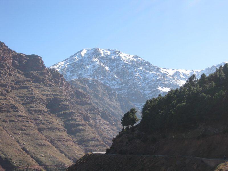 Von Marrakech in die Berge nahe Ourika