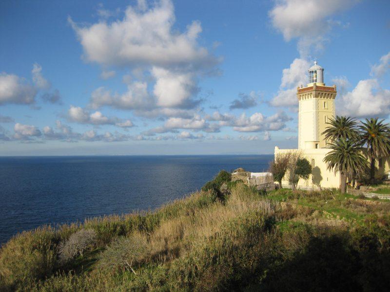 Kap Spartel - wo sich Atlantik und Mittelmeer treffen!