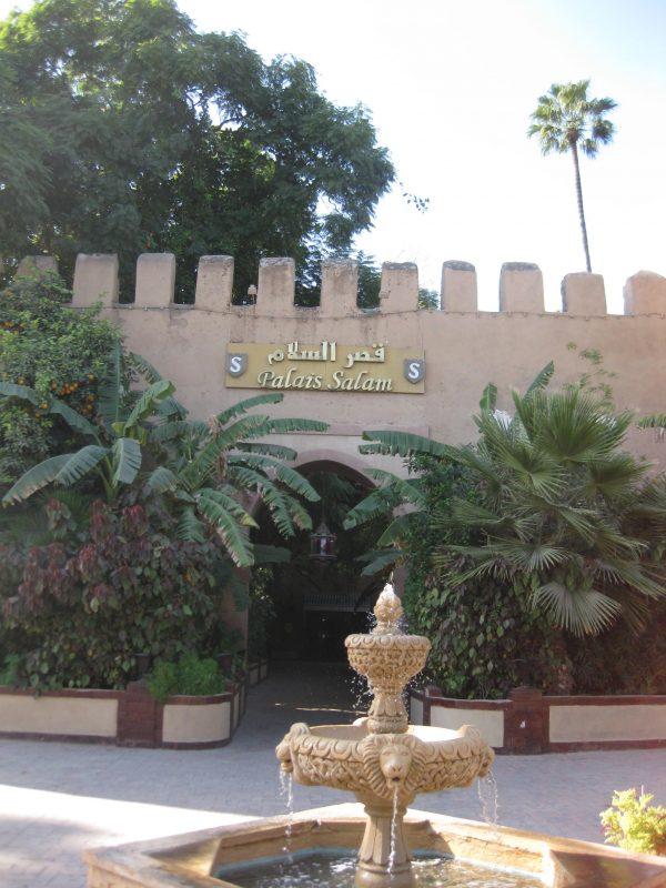 Ein Palast - das Hirsch-Hotel in Taroudant (Wanderreise)