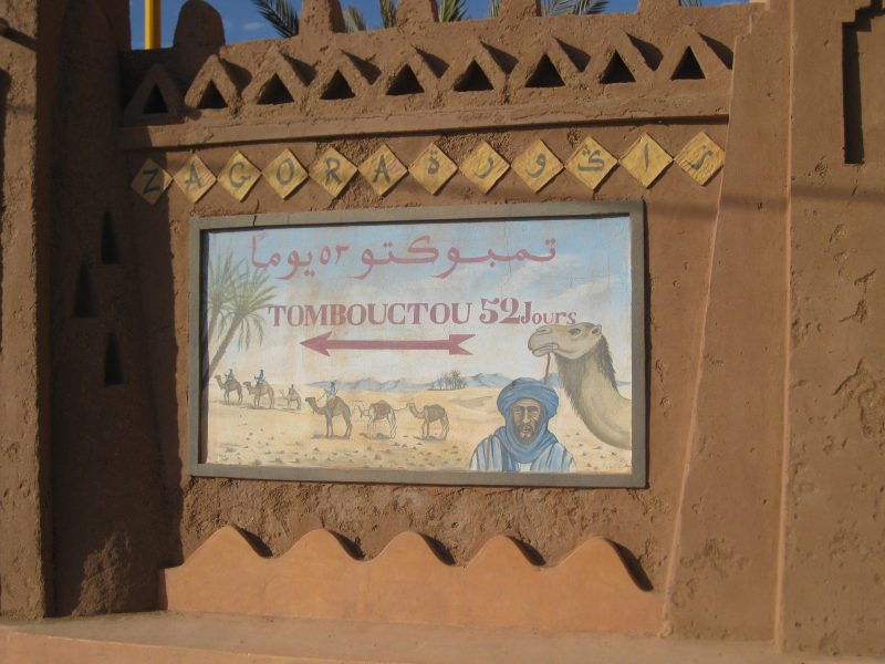 Timbuktu liegt nah - ein Katzensprung durch die Wüste.