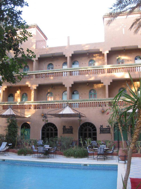 Das Hirsch-Hotel Sirocco in Zagora (Wanderreise)