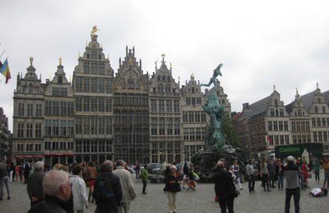 Marktplatz in Antwerpen