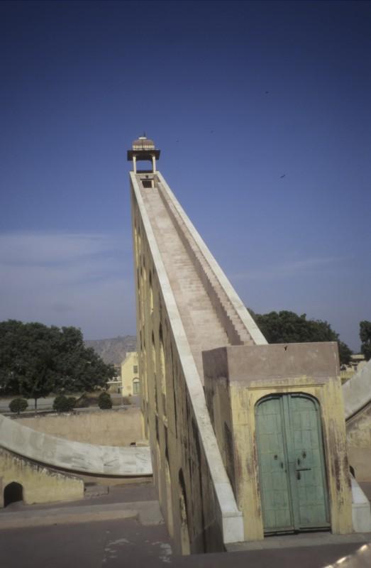 Im Observatorium von Jaipur