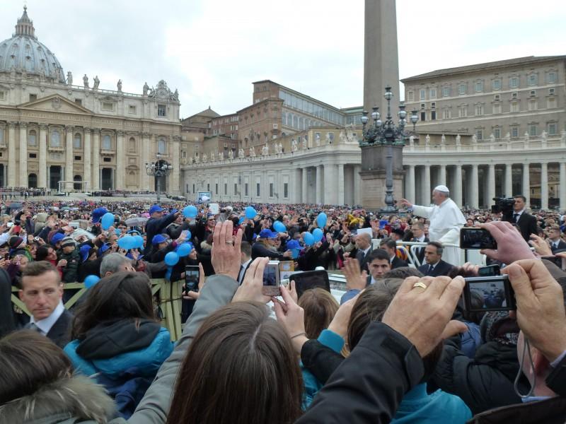 Papstaudienz 2