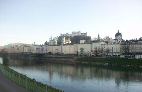 Salzach und Altstadt