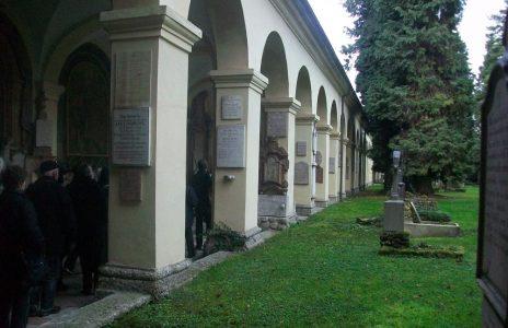 Arkadengang Friedhof St. Sebastian