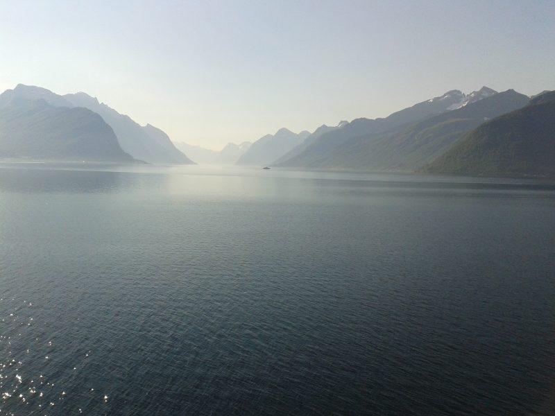 Weg zum Geiranger-Fjord