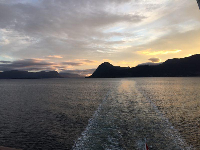 Sonnenuntergang bei Molde