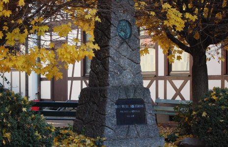 Moscherosch-Denkmal in Willstätt