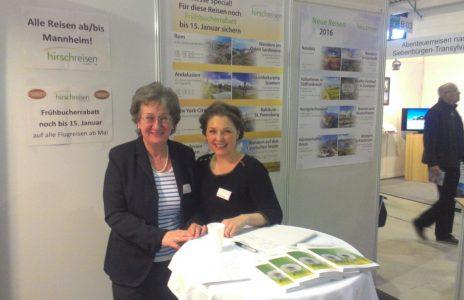 Das Hirsch Messe Team: Elke Albrecht-Hirsch und Katharina Ried