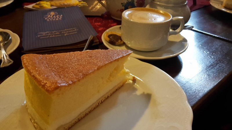 Eierschecke im Cafe Ilse, Pirna