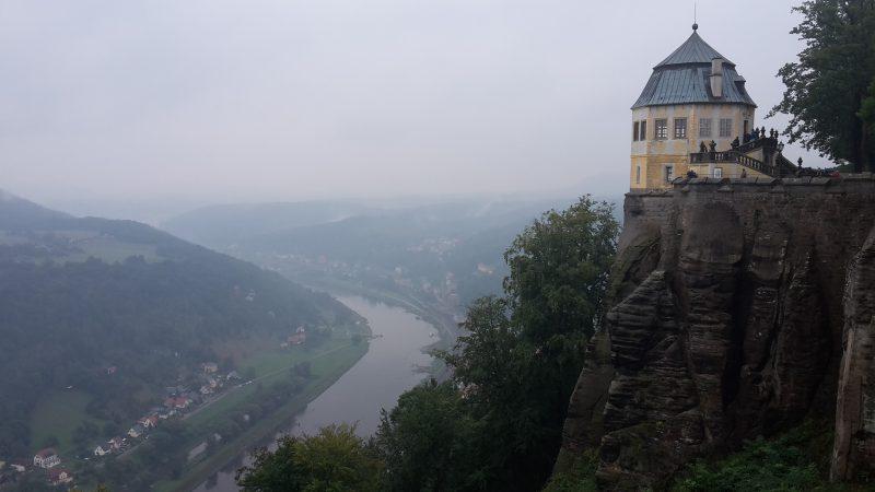 Ausblick von Festung Königstein