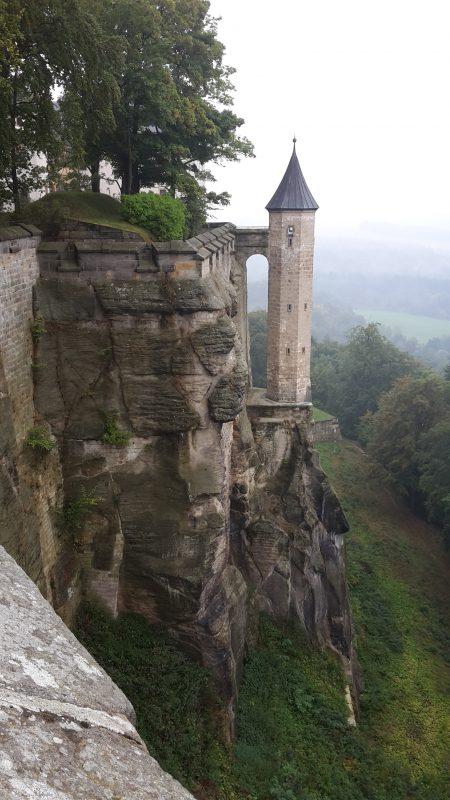 Türmchen auf Schloss Königstein