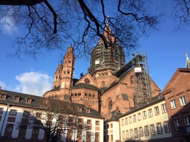 Weihnachtsflair in Mainz