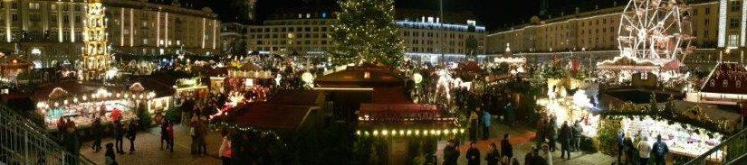 Dresden – Lichterglanz und Striezelmarkt