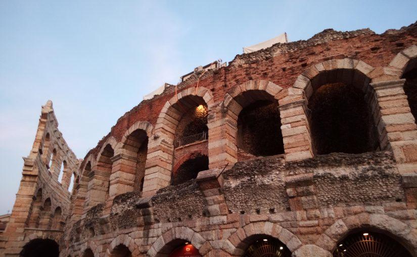 Verona zu den Opernfestspielen