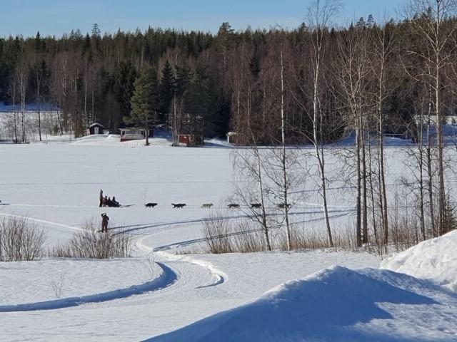 Schwedisch Lappland im März