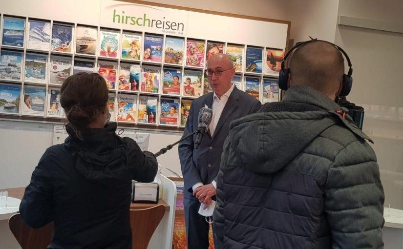 Baden-TV bei Hirsch